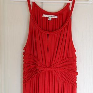 Red Max Studio Maxi Dress